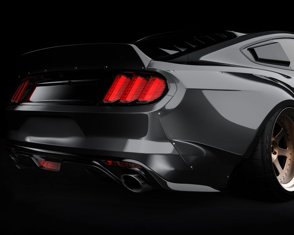 ford mustang widebody kit 8