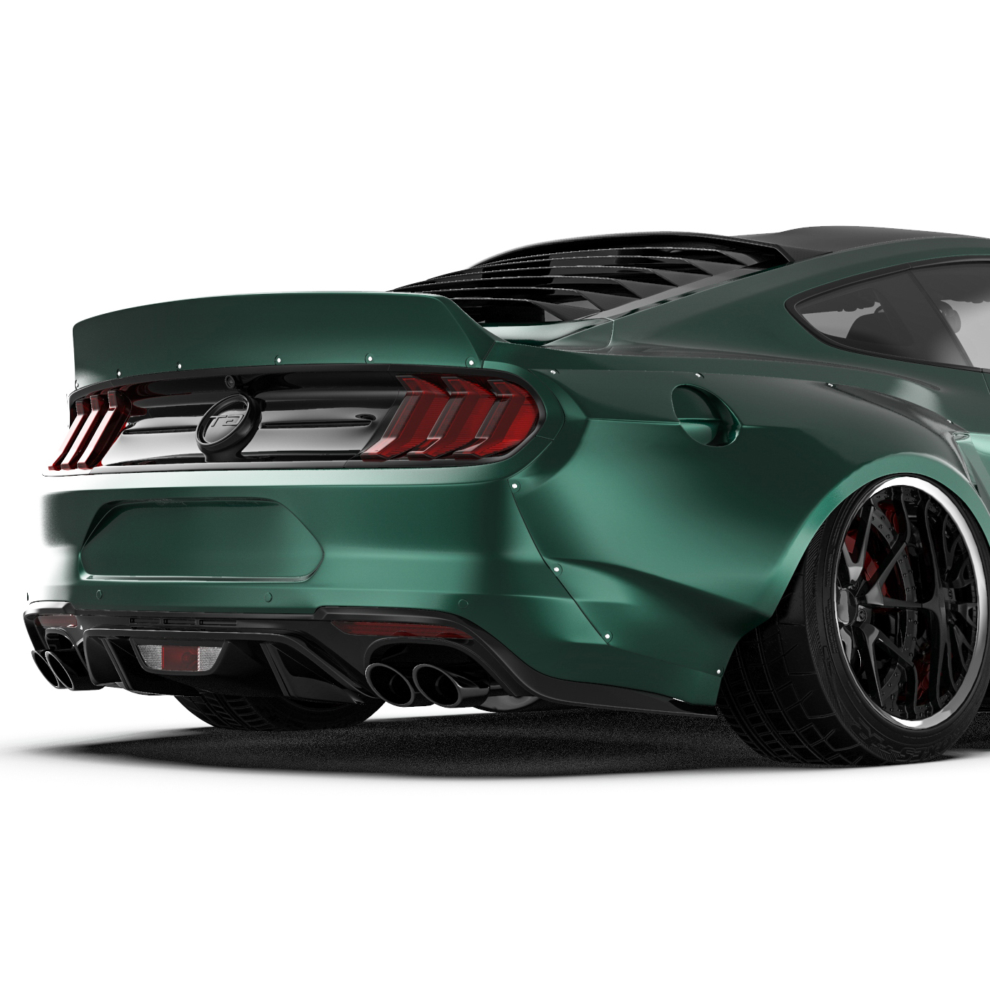 2018 ford mustang widebody kit fits 2018 ford mustang gt ecoboost