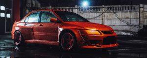 Mitsubishi Evolution widebody kit