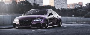 Audi A7 fender flares, widebody kits 8
