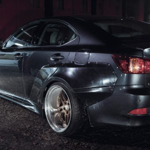 Lexus IS250 IS350 widebody kit 4