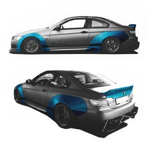 BMW E92 widebody kit