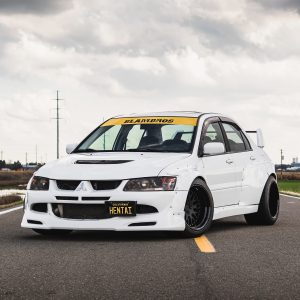 Mitsubishi Evolution widebody kit 2