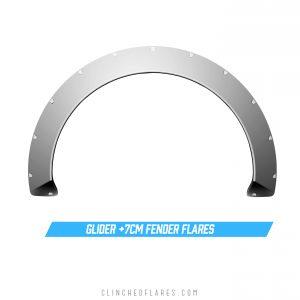 Glider 7cm fender flares