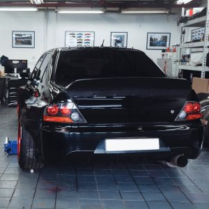 Mitsubishi Evolution widebody kit 6