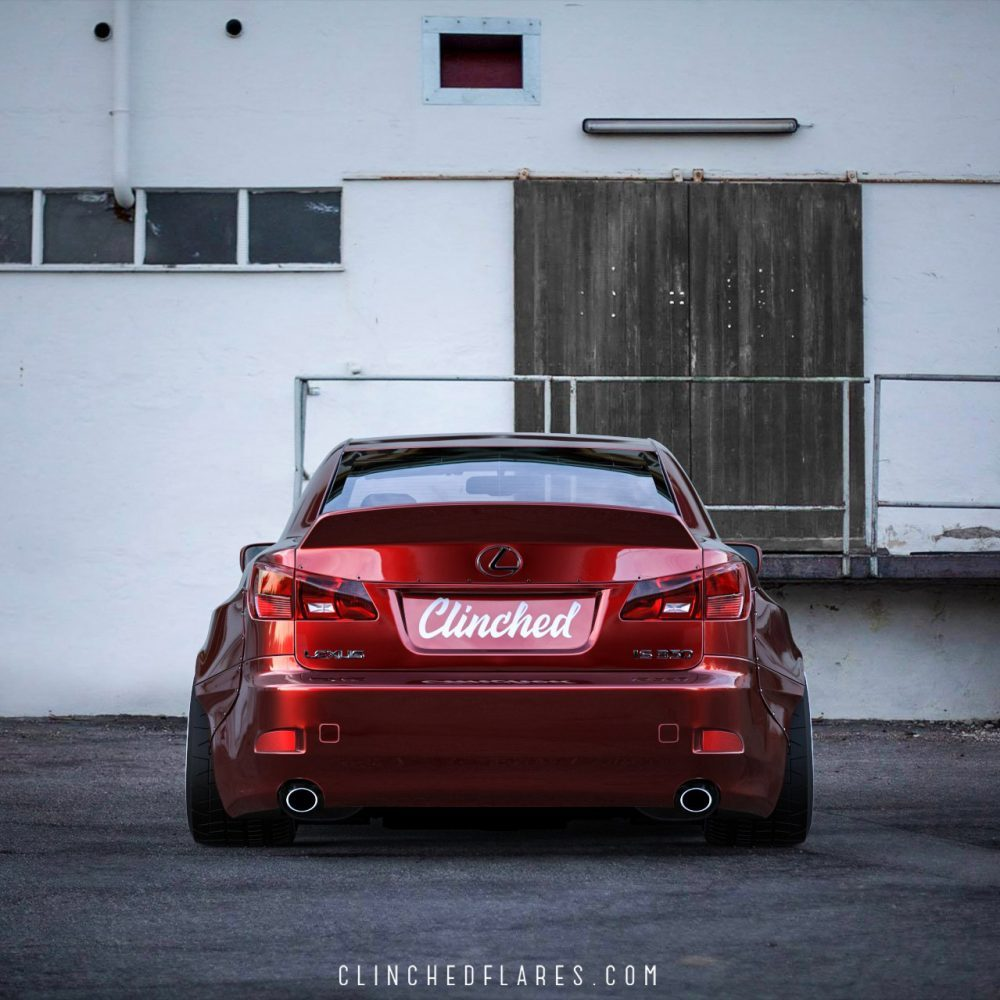 Lexus IS250 IS350 widebody kit 9