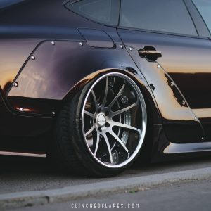 Audi A7 widebody kit 7