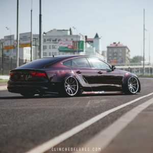 Audi A7 widebody kit 6