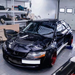 Mitsubishi Evolution widebody kit 11