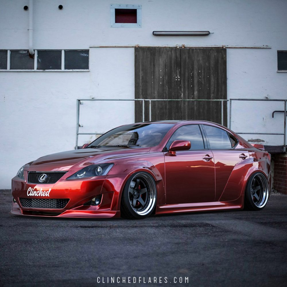 Lexus Is250 Is350 Widebody Kit By Clinched Flares