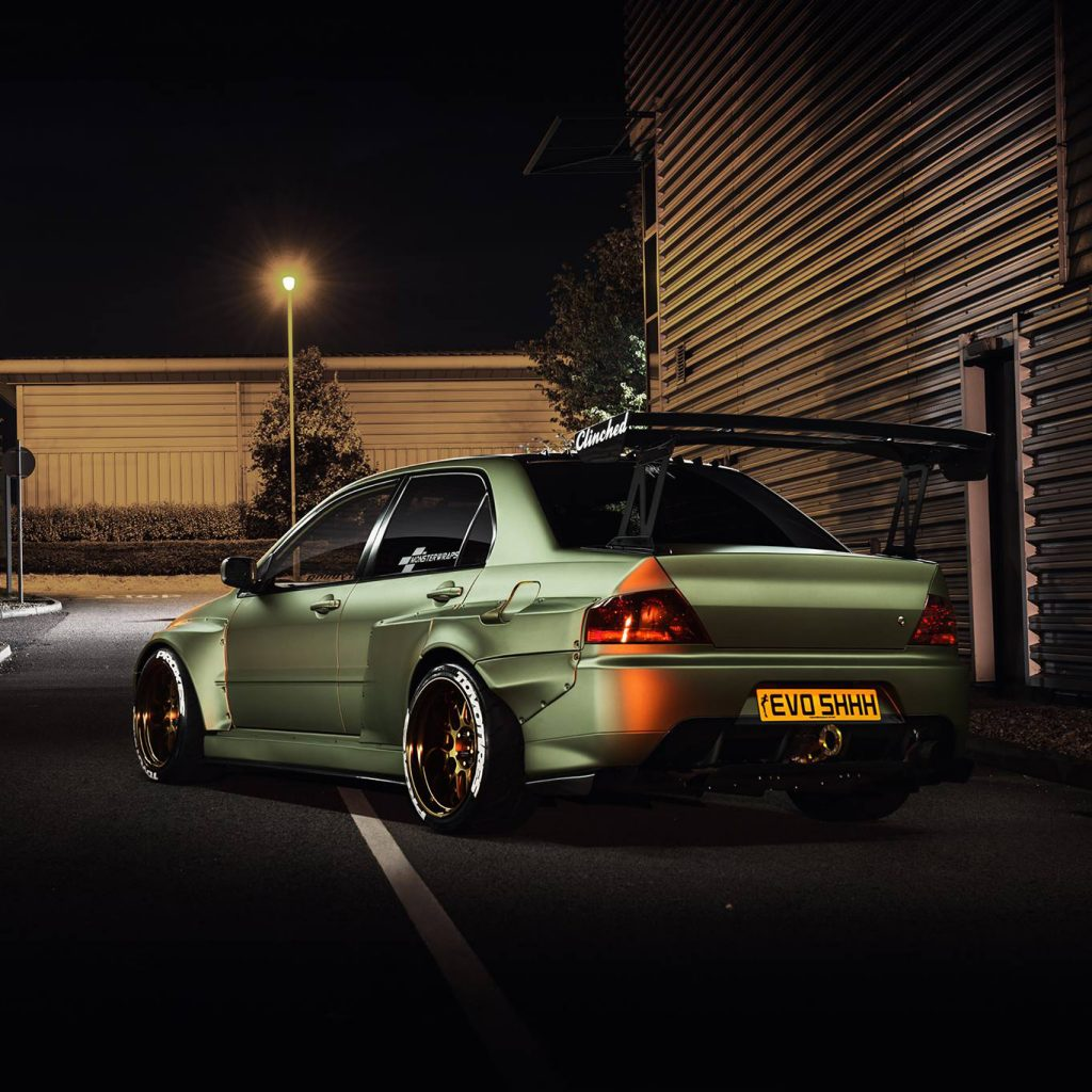 Mitsubishi Evolution widebody kit 7