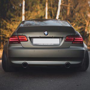 BMW E92 ducktail spoiler 2