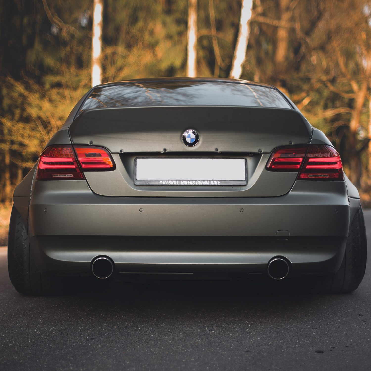 Bmw E92 Ducktail Spoiler By Clinched Flares For 3 Series