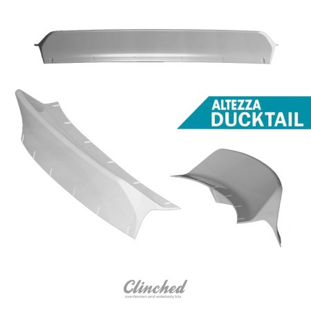 Lexus IS300 ducktail spoiler 1