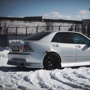 Lexus IS300 ducktail spoiler 3