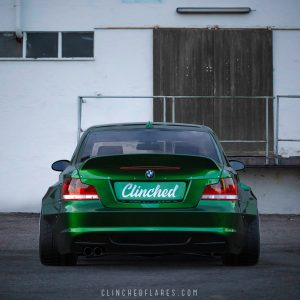 Clinched BMW E82 widebody kit 4