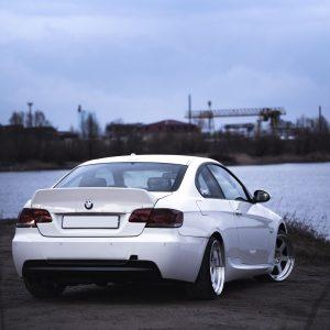 BMW E92 ducktail spoiler 5