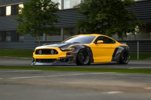 ford mustang widebody kit CF5
