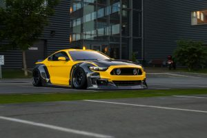 ford mustang widebody kit CF4