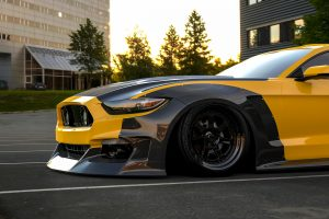 ford mustang widebody kit CF2