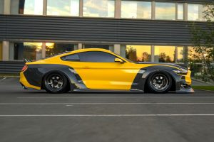 ford mustang widebody kit CF1