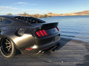 Ford Mustang Ducktail