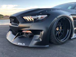 Ford Mustang ABS plastic widebody kit
