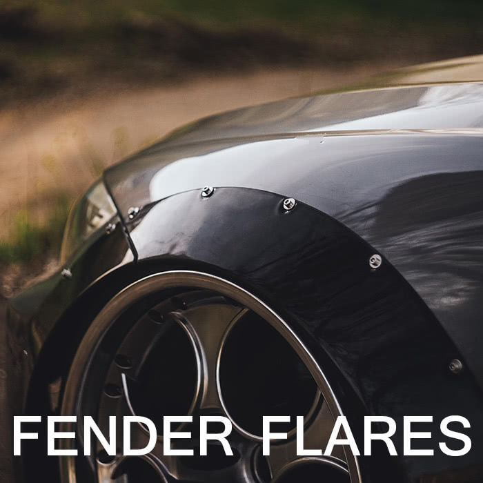 Fender Flares, Widebody Kits, Ducktail Spoilers | Clinched Flares