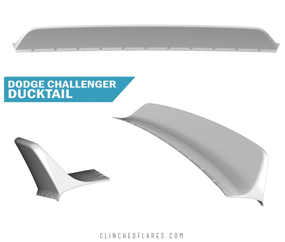 Dodge Challenger Ducktail Spoiler