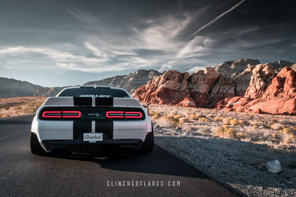 Dodge Challenger Ducktail Spoiler